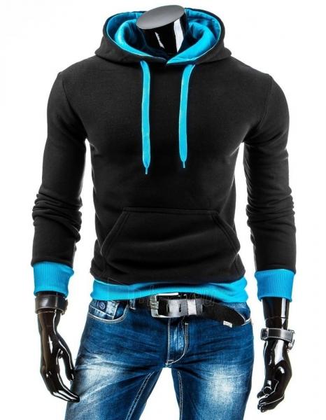 Vyriškas džemperis Lamont (Juodas/Turkis) Paveikslėlis 1 iš 6 310820043588