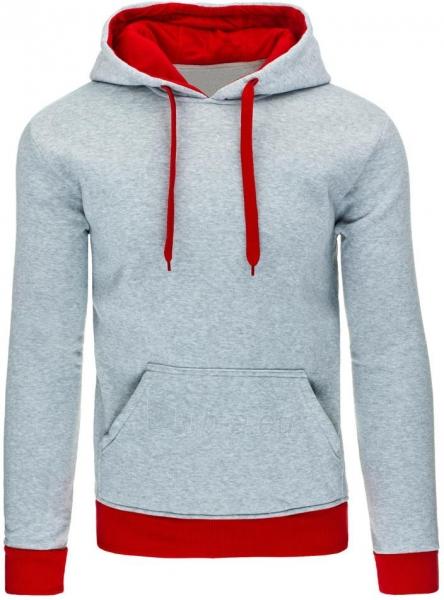 Vyriškas džemperis Lamont (Pilkas/Raudonas) Paveikslėlis 1 iš 7 310820043690
