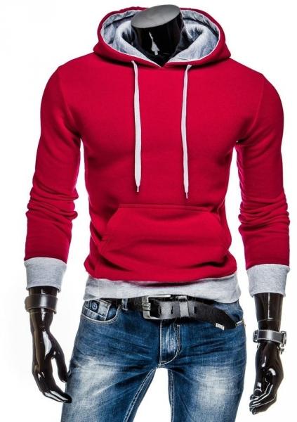 Vyriškas džemperis Lamont (Raudonas/Pilkas) Paveikslėlis 1 iš 6 310820043456