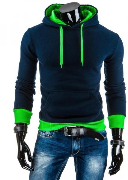 Vyriškas džemperis Lamont (Tamsiai mėlynas/Žalias) Paveikslėlis 1 iš 6 310820036865