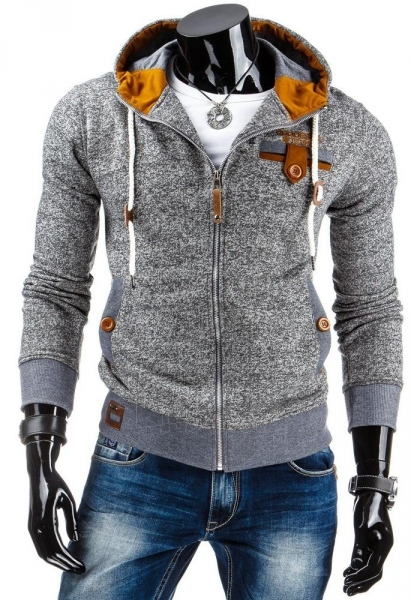 Vyriškas džemperis Lane (Pilkas) Paveikslėlis 1 iš 6 310820030933