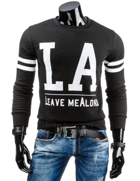 Vyriškas džemperis Leave MeAlond (Juodas) Paveikslėlis 1 iš 6 310820036942
