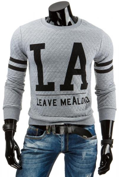 Vyriškas džemperis Leave MeAlond (Pilkas) Paveikslėlis 1 iš 6 310820031450