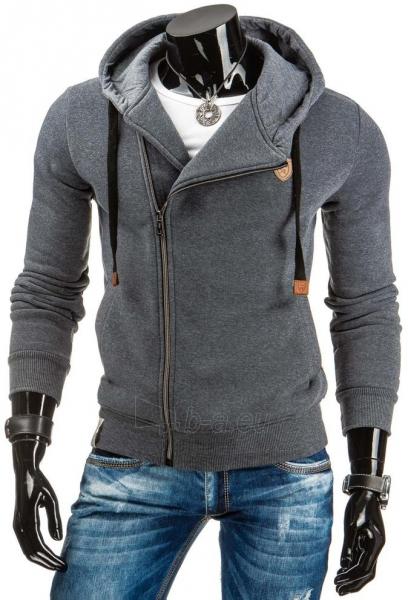 Vyriškas džemperis Leland (Tamsiai Pilkas) Paveikslėlis 1 iš 6 310820030988