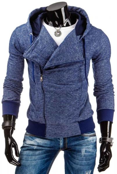 Vyriškas džemperis Leo (Tamsiai mėlynas) Paveikslėlis 1 iš 6 310820036894