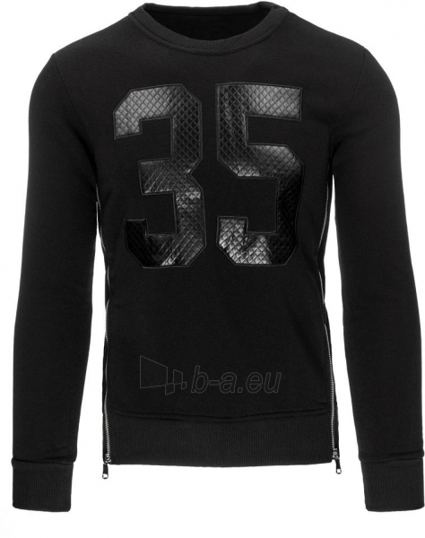 Vyriškas džemperis Lesley35 (Juodas) Paveikslėlis 1 iš 7 310820031002