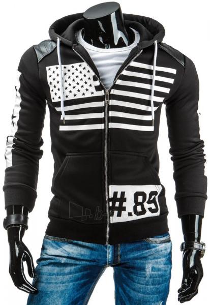 Vyriškas džemperis Lester89 (Juodas) Paveikslėlis 1 iš 6 310820031009