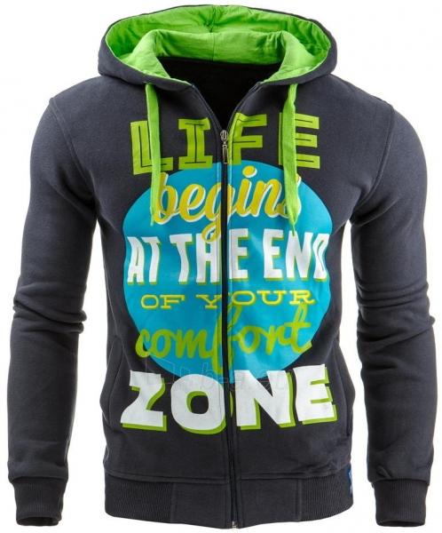 Vyriškas džemperis Life zone (Tamsiai mėlynas) Paveikslėlis 1 iš 1 310820031594