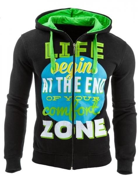 Vyriškas džemperis Life zone(Juodas) Paveikslėlis 1 iš 1 310820031595