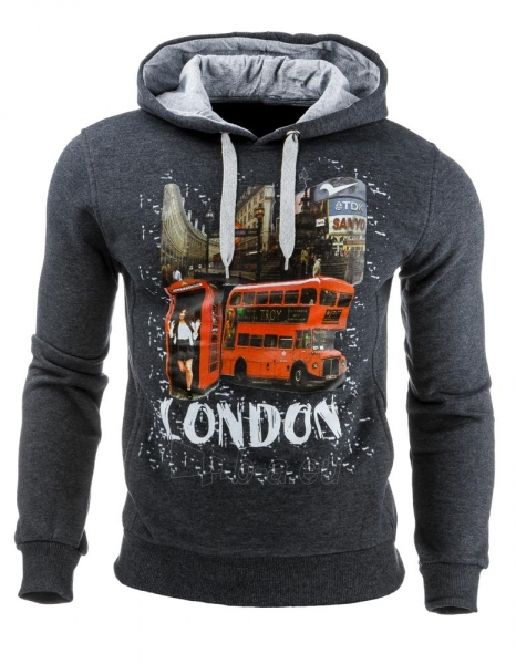 Vyriškas džemperis London (Antracitas) Paveikslėlis 1 iš 1 310820031848