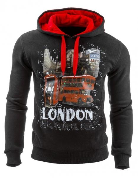 Vyriškas džemperis London (Juodas) Paveikslėlis 1 iš 1 310820031711