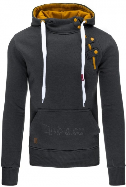 Vyriškas džemperis Lua (grafitinės) Paveikslėlis 1 iš 2 310820046596
