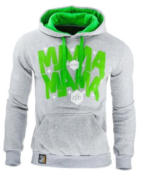 Vyriškas džemperis Mama (Pilkas) Paveikslėlis 1 iš 1 310820031872
