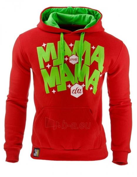 Vyriškas džemperis Mama (Raudonas) Paveikslėlis 1 iš 1 310820031870