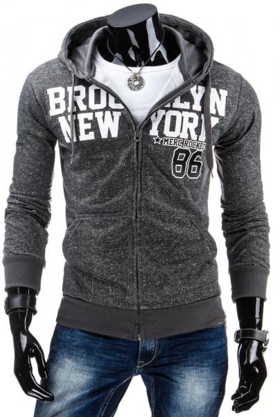 Vyriškas džemperis Merc (Antracitas) Paveikslėlis 1 iš 6 310820036876