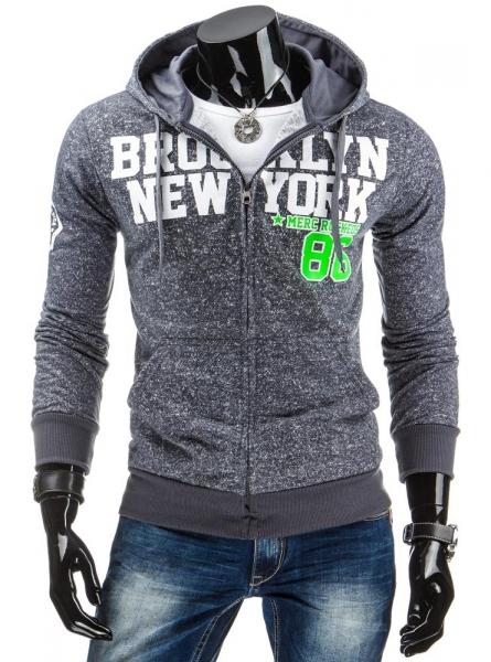 Vyriškas džemperis Merc (Grafitas) Paveikslėlis 1 iš 6 310820030953