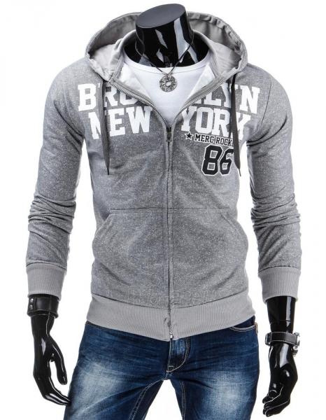 Vyriškas džemperis Merc (Pilkas) Paveikslėlis 1 iš 6 310820030954