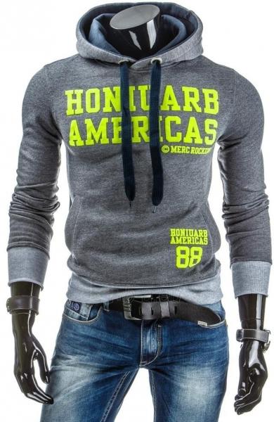 Vyriškas džemperis MercRockeds (Antracitas) Paveikslėlis 1 iš 6 310820030890