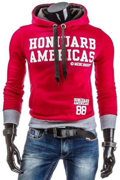 Vyriškas džemperis MercRockeds (Raudonas) Paveikslėlis 1 iš 6 310820030891