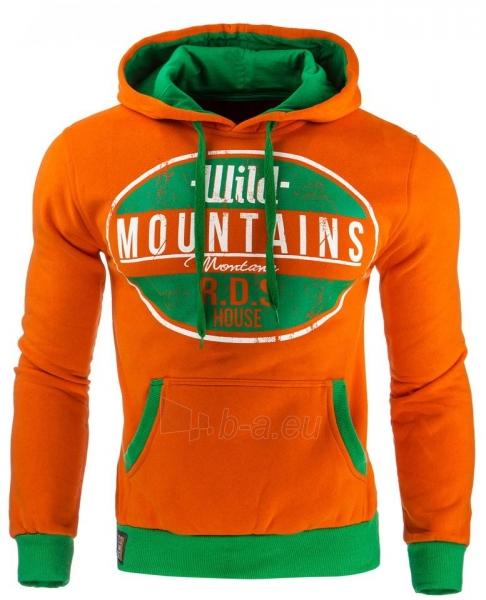 Vyriškas džemperis Mountains (Oranžinis) Paveikslėlis 1 iš 1 310820032043