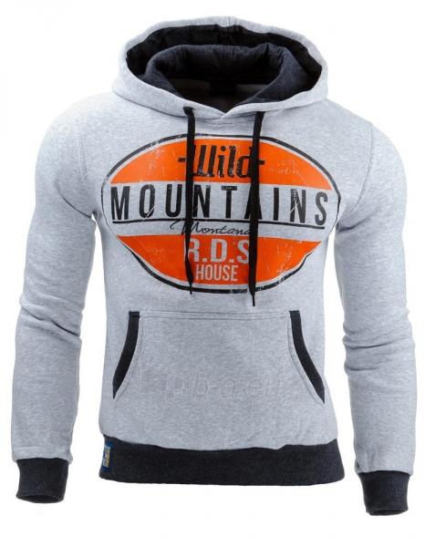 Vyriškas džemperis Mountains (Pilkas) Paveikslėlis 1 iš 1 310820031611