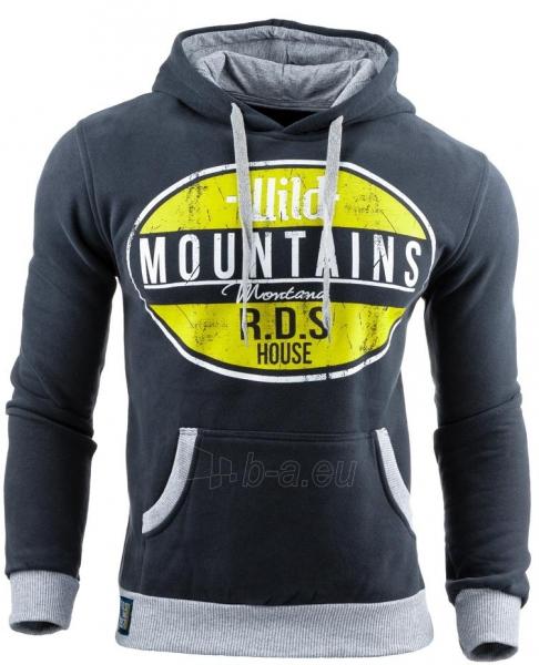 Vyriškas džemperis Mountains (Tamsiai mėlynas) Paveikslėlis 1 iš 1 310820031610