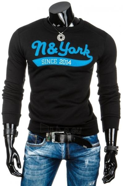 Vyriškas džemperis N&York (Juodas) Paveikslėlis 1 iš 6 310820036914