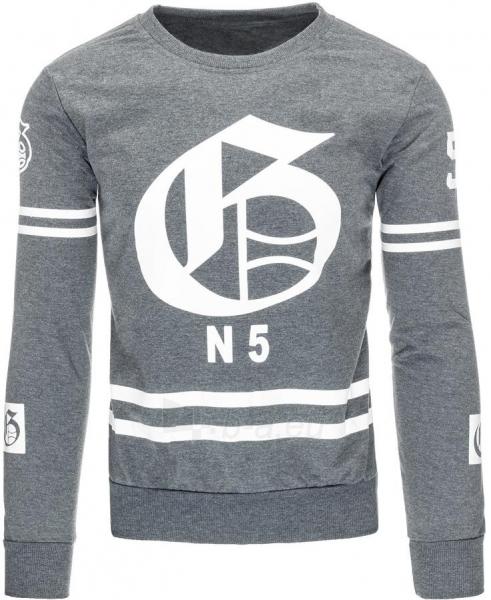 Vyriškas džemperis N5 (Antracitas) Paveikslėlis 1 iš 7 310820031936