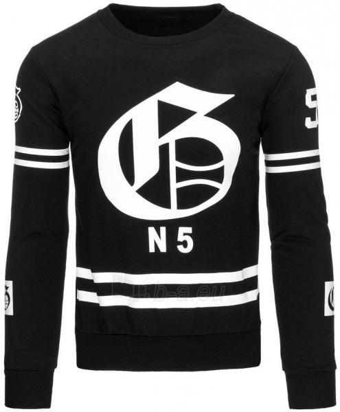 Vyriškas džemperis N5 (Juodas) Paveikslėlis 1 iš 7 310820031935