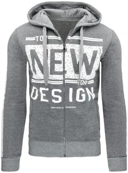 Vyriškas džemperis NEW for DESIGN (Šviesiai pilkas) Paveikslėlis 1 iš 7 310820031496