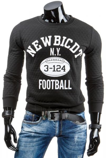 Vyriškas džemperis NY 3-124 (Juodas) Paveikslėlis 1 iš 6 310820036944