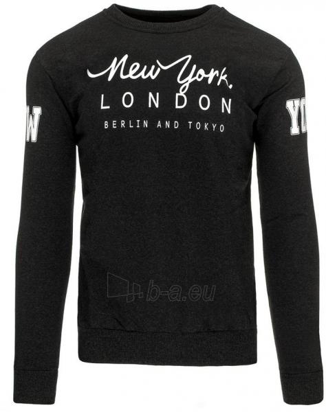 Vyriškas džemperis NY LONDON BERLIN AND TOKYO (Grafitas) Paveikslėlis 1 iš 7 310820031507