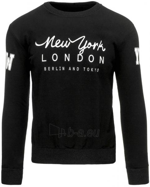 Vyriškas džemperis NY LONDON BERLIN AND TOKYO (Juodas) Paveikslėlis 1 iš 7 310820031508