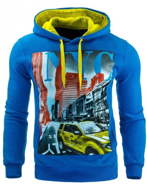 Vyriškas džemperis NYC (Mėlynas) Paveikslėlis 1 iš 1 310820032049