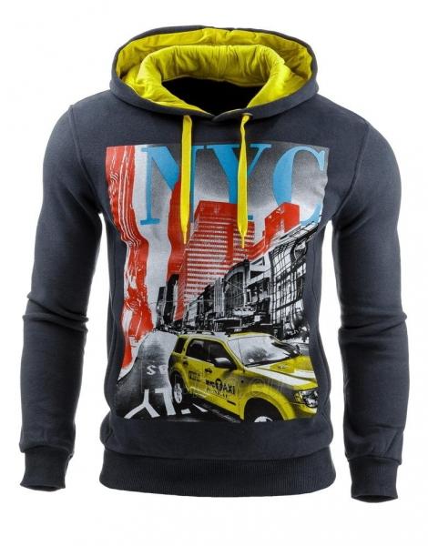 Vyriškas džemperis NYC (Tamsiai mėlynas) Paveikslėlis 1 iš 1 310820031590
