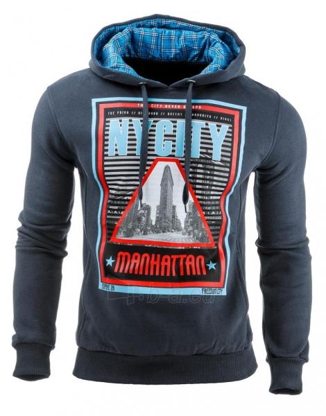 Vyriškas džemperis Nycity (Grafitinis) Paveikslėlis 1 iš 1 310820031875