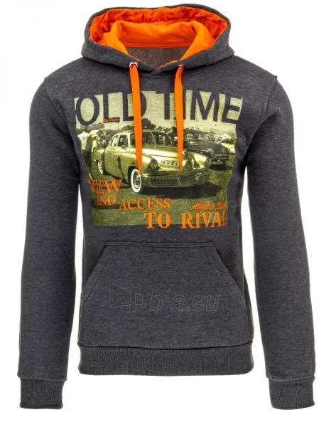 Vyriškas džemperis OldTime (Antracitas) Paveikslėlis 1 iš 1 310820032337