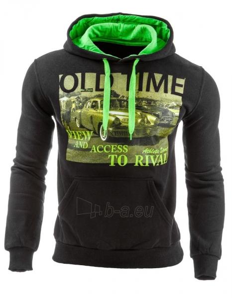 Vyriškas džemperis OldTime (Juodas) Paveikslėlis 1 iš 1 310820031714