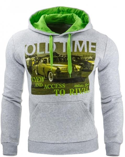 Vyriškas džemperis OldTime (Pilkas) Paveikslėlis 1 iš 1 310820031716
