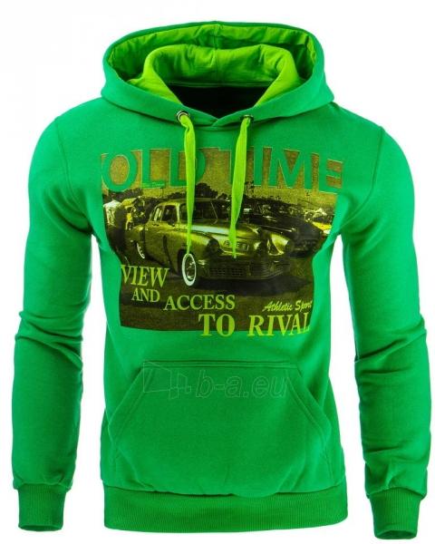 Vyriškas džemperis OldTime (Žalias) Paveikslėlis 1 iš 1 310820032047
