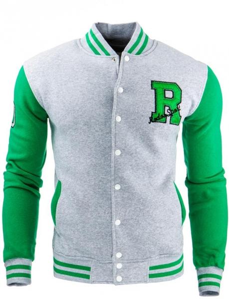 Vyriškas džemperis Pike (Pilkas) Paveikslėlis 1 iš 1 310820032131
