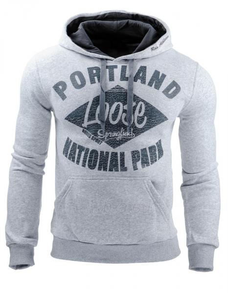 Vyriškas džemperis Portland (Pilkas) Paveikslėlis 1 iš 1 310820031691