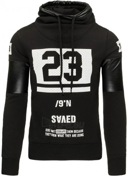 Vyriškas džemperis Saved 23 (Juodas) Paveikslėlis 1 iš 7 310820031493