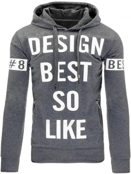 Vyriškas džemperis So Like (Antracitas) Paveikslėlis 1 iš 7 310820031920