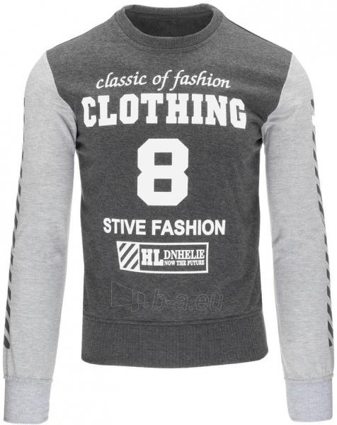 Vyriškas džemperis Stive (Antracitas) Paveikslėlis 1 iš 7 310820032195