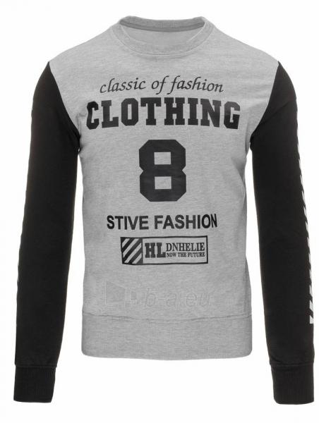 Vyriškas džemperis Stive (Pilkas) Paveikslėlis 1 iš 7 310820032196