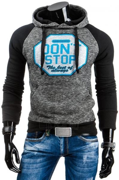 Vyriškas džemperis Stop (Juodas) Paveikslėlis 1 iš 6 310820030977