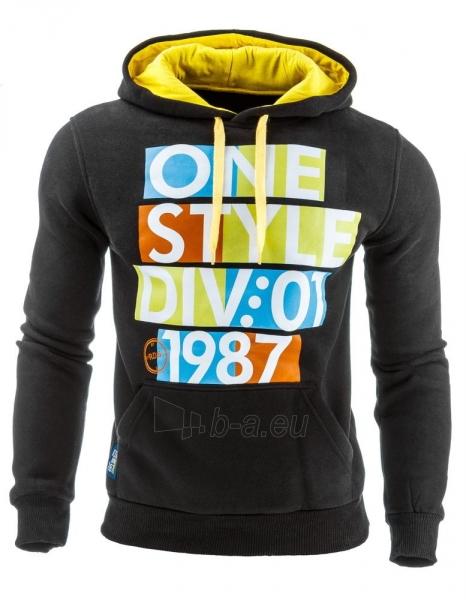 Vyriškas džemperis Style (Juodas) Paveikslėlis 1 iš 1 310820031882