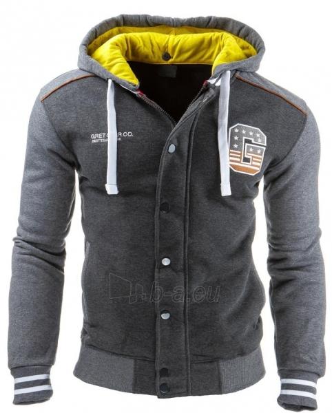 Vyriškas džemperis Swartz (Antracitas) Paveikslėlis 1 iš 2 310820035169