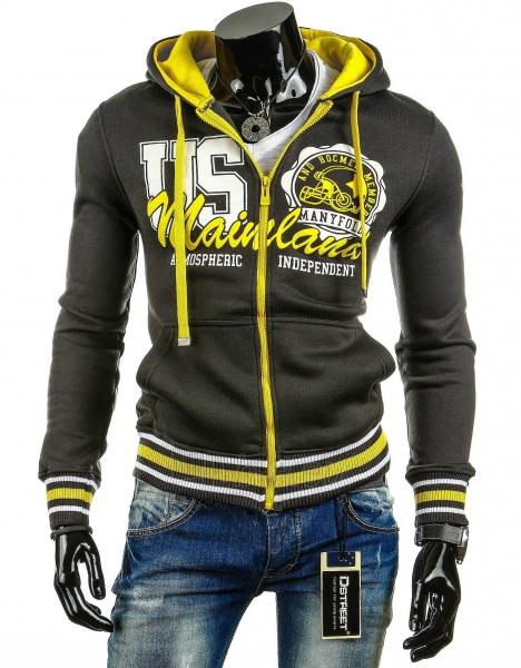 Vyriškas džemperis US (Grafitas) Paveikslėlis 1 iš 6 310820030735